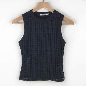 T by Alexander Wang Mesh Hole Muscle Tank Top SM